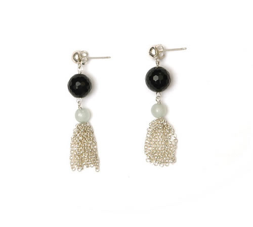 Paris mixed stone Earring