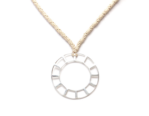 Indian Sundial Necklace